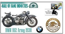 BMW MOTORCYCLE HALL OF FAME COVER, 1938 R12 ARMY