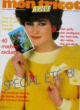 Revue de mode Catalogue de tricot - Mon Tricot n°182 - Année 80 - Eté