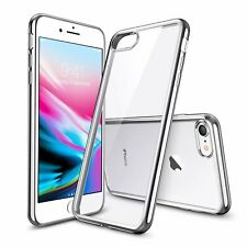 Clear Hard Back Case for iPhone XR Silicone Case with Full Curved Glass Free