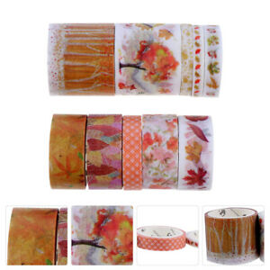 2 boxes of Paper Tapes Adhesive Tapes DIY Paper Tapes for Home