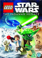 STAR WARS LEGO - THE PADAWAN MENACE - DVD - REGION 2 UK