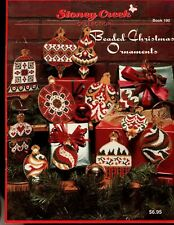 Stoney Creek 19 Beaded Christmas Ornaments Booklet