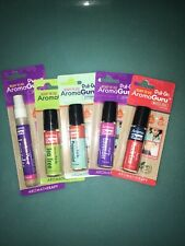 NEW LOT of 5 Aroma Guru 100% Pure essential oil with Lavender Pump & 4 Roll Ons