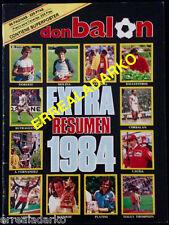 DON BALON EXTRA RESUMEN 1984 TODOS LOS DEPORTES - EUROCOPA 84 - OLIMPIADAS 84