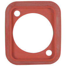 Neutrik SCDP-2 Sealing Gasket for D-size Connectors Red