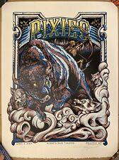 "PIXIES Handbill Silkscreen Print LA 9-22-04 2004 5X6/"" Signed poster art EMEK"