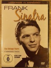 Legends In Concert: Frank Sinatra The Vintage Years (DVD, 2010) BRAND NEW!