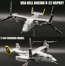 USA Bell Boeing V-22 Osprey 1/144 DIECAST Helicopter Aircraft plane Model