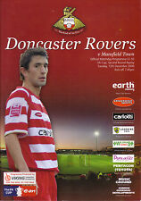 Doncaster Rovers v Mansfield Town 2006/07 FA Cup 2nd round replay