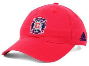 Too Cute! New Licensed MLS Chicago Fire Womens Adidas Soccer Hat B52 SALE!