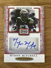 Myron Mitchell Auto Rookie 2021 SAGE Premier Draft #A41 VIKINGS NFL