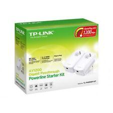 ESP TP-Link TL-PA8010P KIT AV1200 Gigabit Extensor Powerline adaptadores 2-PLCs