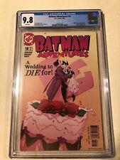 Batman Adventures #16 CGC 9.8 Classic Wedding Cover Harley Quinn & Joker