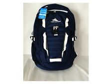 "HIGH SIERRA® Ryler Backpack With 17"" Laptop Sleeve, True Navy Tablet Pocket"