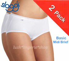 sloggi Cotton Mid Rise Knickers for Women