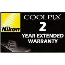NIKON 2 YEAR WARRANTY for CoolPix S6100 S9100 S-9100