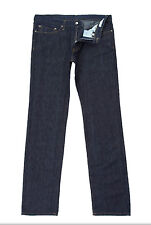 """Versace COLLECTION Caballeros Lino Azul Denim Jeans W32""""in L34""""in BNWT"""