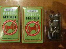 New!!30PCS Domestic Sewing Machine Needles HAX1,15x1 SIZE 16/100, 18/110, 20/125