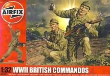 Airfix 14 SOLDADOS British Commandos Británico Escuadrón de comando Diorama 1 :3