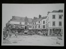 POSTCARD KENT CANTERBURY - THE BUTTERMARKET - PENCIL SKETCH