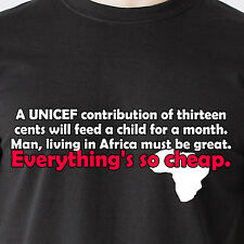 Man, living in Africa must be great. Everything's so cheap. 70s Funny T-Shirts