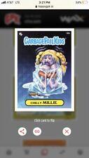2020 Topps Wax Digital Garbage Pail Kids 1st Series #32B Chilly Millie PRISM