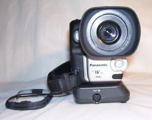 Panasonic NV-DX110B.3CCD.MiniDV. Man.Focus Ring.PAL.DV-in.VGC. 1 yr. Wrnty.