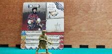 Zombicide Green Horde Kickstarter Exclusive - Rocco - Survivor w/card