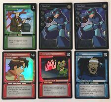Mega Man TCG Lot Of 6 FOIL Promo Cards M/NM - 3P1 (x2), 2P2, 2P3, 2P4, 2P5
