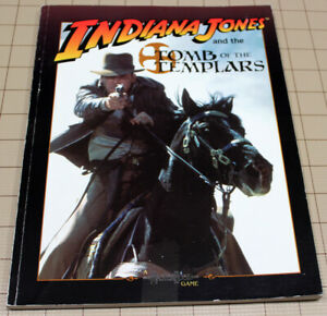 INDIANA JONES AND THE TOMB OF THE TEMPLARS !! RPG by West End Games!!