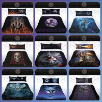 ANNE STOKES Gothic Dragons Fairies Bed Doona Duvet Quilt Cover Double Queen King
