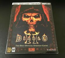 Diablo 2000 Official Bradygames Strategy Guide Walkthrough Art Book
