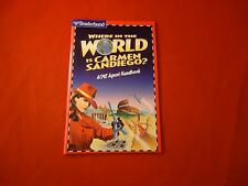 Where in the World is Carmen Sandiego Acme Agent Handbook Computer PC Manual