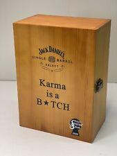 JACK DANIELS SINGLE BARREL SELECT WOOD BOX for COLLECTORS GIFT
