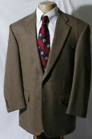 Samuelsohn Men's Wool Cashmere Sport Coat Jacket Blazer Size 44R