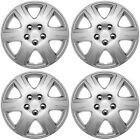 4PC-FITS-Toyota-Corolla-15-Inch-Wheel-Covers-Hub-Caps-STEEL-CLIPS-Best-FitHold