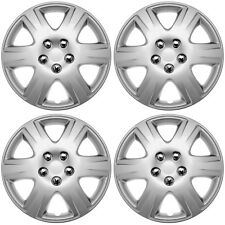 """4PC FITS Toyota Corolla 15"""" Inch Wheel Covers Hub Caps STEEL CLIPS Best Fit&Hold"""