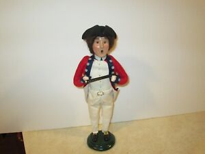 Byers Choice 1999 Williamsburg Colonial Soldier with Fife