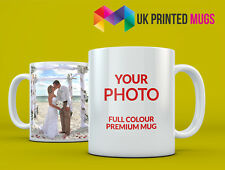 Premium Personalised Photo Mug - Full Colour