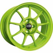 OZ RACING ALLEGGERITA HLT 4F ACID GREEN ALLOY WHEEL 16X7 ET42 4X100