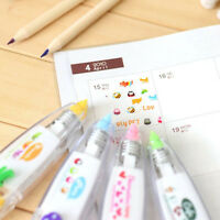 Multi-color Stationery Push Correction Tape Fresh Lace for Diary Tags Sign New