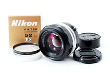 Used Nikon NIKKOR-S.C Auto 50mm F1.4 F mount Limited Good condition Genuine