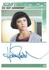 Star Trek TNG Complete (2012): Hallie Todd autograph