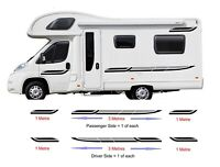 10 Metres Graphics Decals For Motorhome Caravan Campervan T4 Transit Many Colors