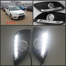 LED DRL DayTime Running Light LED Lamp Kit For Ford Focus 2009~2012