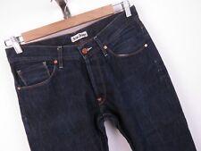 TA316 ACNE JEANS PANTS ORIGINAL SLIM MOC RAW DENIM SWEDEN size 31/34
