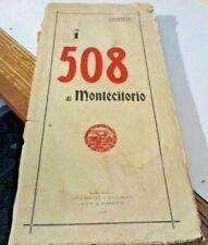 I 508 DI MONTECITORIO di CIMONE - C.E. ROUX & VIARENGO 1907
