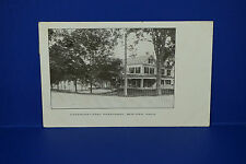 Vintage Congregational Parsonage, Bedford MA, Used in Ink,RPPC,  PC4