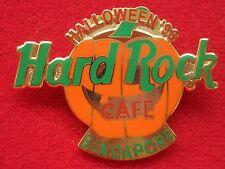 HRC HARD ROCK CAFE SINGAPORE Halloween Pumpkin 1996
