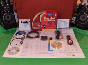 PINNACLE Dazzle DVC100 DVD Recorder HD MovieBox-USB+STUDIO FOR DAZZLE 13-TEILIG